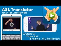 ASL Your Primary Language? Expand Communication Partners Using these Apps-ASL Translator