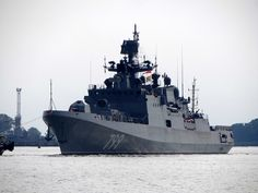 Russia's Third Project 11356 Frigate Admiral Makarov Started Sea Trials in Baltic Sea