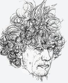 http://abystle.tumblr.com/ Self Portrait, Austin Osman Spare, ca. 1900-1920