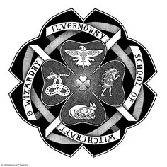 You've read the history of the North American wizarding school, and now you can find out your own #Ilvermorny house!   I am in the horned serpent house.  I wish they told a bit more about them. Horned Serpent – a 'great horned river serpent with a jewel set into its forehead'