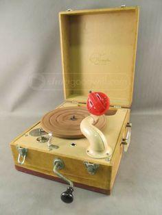 Waters Conley Phonola Crank Record Player S61C