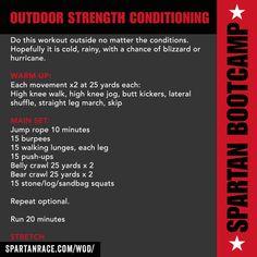 OUTDOOR STENGTH CONDITIONING WOD | SPARTAN BOOTCAMP - SPARTAN RACE™ Blog