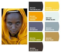 "My dear, your face is ""Black Bean"". Paint colors from Chip It! by Sherwin-Williams"