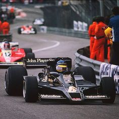 Monaco Lotus 78 JPS driven by Ronnie Peterson... Gone too soon.