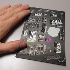 LIFT nous propose de beaux stickers cette année.