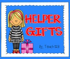 Teach123 - tips for teaching elementary school: Gifts for Volunteers: Bright Idea