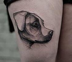 10 tatuagens de cachorros para quem ama seu melhor amigo
