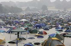 Camping in the rain doesn't have to ruin your holiday weekend--->  WOW!  No thank you!