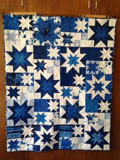 I think this is Karen's pattern. PatchworknPlay: Under Southern Skies!