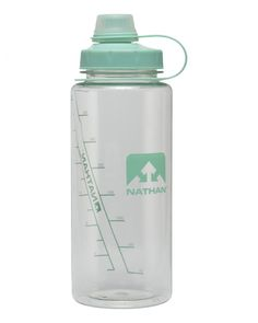 """Nathan - """"LittleShot"""" water bottle (750mL) in Clear/Cockatoo"""
