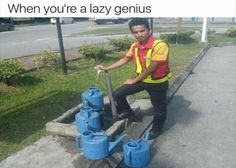 When you're a lazy genius: more funny pictures @ https://fartinvite.com/