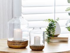 Complete your room with our stylish collection of lighting solutions. Shop our range of lanterns, table lamps and candles, online or in-store at Bed Bath N' Table. Lantern Lamp, Candle Lanterns, Soy Candles, Candles For Sale, Style Challenge, Bedside Lamp, Lighting Solutions, Bed & Bath, Decorative Accessories