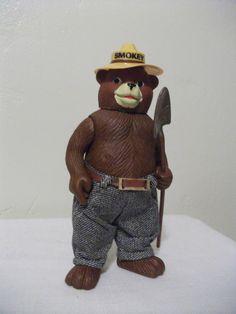 1970s Smokey the Bear R Dakin Toy