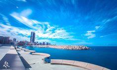 The beautiful #Beirut #بيروت الرائعة By Mike Kobi  #Lebanon #WeAreLebanon