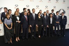 Queen Letizia of Spain Photos: Antena 3 TV Channel 25th Anniversary Party