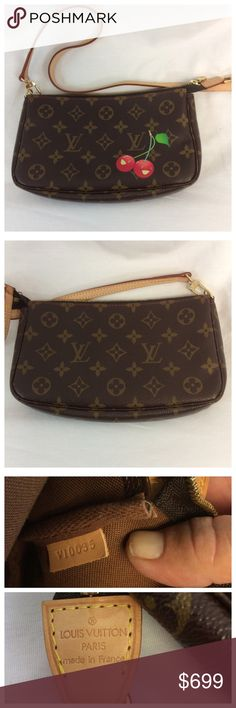 "LOUIS VUITTON CROSSBODY BAG LOUIS VUITTON CROSSBODY BAG, like new. Approximate measurements are 9"" long, 5 1/2"" high, and 1 1/2"" wide. Can be purchased as a set under separate listing. 0149 Louis Vuitton Bags Crossbody Bags"