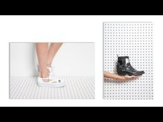 DIY cut-out boots and sneakers - Ari's quick fix series