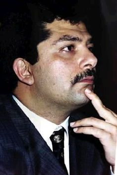 Qusay Hussein (1966 - 2003) Second son of Saddam Hussein, Dictator of Iraq. He was the heir apparent to his father's dictatorial position of President of Iraq, replacing his older brother Uday, when Uday proved to be erratic and less stable.