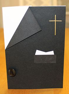 Kortti_08_2015 Confirmation Cards, Baptism Cards, Hobbies And Crafts, Diy And Crafts, Arts And Crafts, First Communion Cards, Kids Cards, Folded Cards, Holidays And Events
