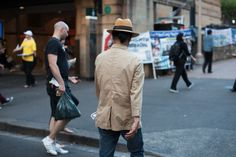Hat and knot. Panama Hat, Knot, Street Style, Mens Fashion, Hats, Jackets, Collection, Man Fashion, Down Jackets