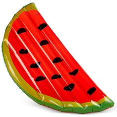 Watermelon Slice Pool Float (6.640 HUF) ❤ liked on Polyvore featuring red