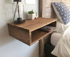 bedside shelf - Google Search