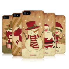 HEAD CASE DESIGNS CHRISTMAS CLASSICS HARD BACK CASE COVER FOR APPLE iPHONE 5 5S