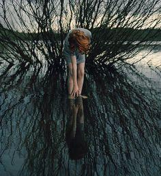 Ellen Kooi  Oosterplas reflection