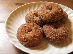 mini cardamom donut