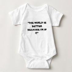 BABY WEAR BABY BODYSUIT - baby gifts child new born gift idea diy cyo special unique design