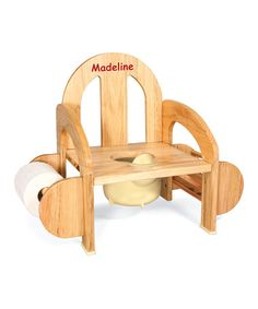 Genial Take A Look At This Wooden Potty Chair By One Step Ahead On #zulily Today