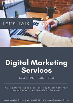 Digital Marketing Service: A Perfect Way To Reach Customer Digital Marketing Services, Seo Services, To Reach, Startups, Platforms, Online Business, Promotion, Big