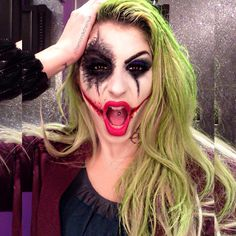 Female joker   Suicide squad girl joker , Halloween, october15 costume
