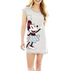 Disney Graphic Dolman-Sleeve Sleep Tee - Juniors