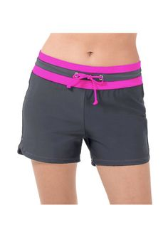 Hit the beach in our best selling plus size style made to let you create a suit to match your activity. Our drawstring swim short with a contrast waist band and drawstring adds style and functionality. Plus Swimwear, Swimsuits, Country Women, Street Style Edgy, Swim Shorts, Amazing Women, Plus Size Fashion, Gym Shorts Womens, Sporty