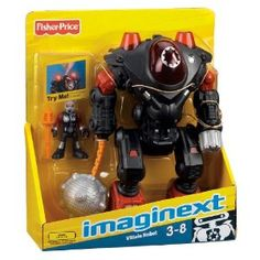 Fisher-Price Imaginext Robot Police Villain Robot for $9.15 ...