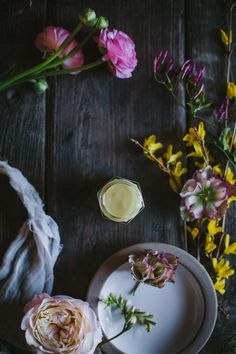 Homemade Face Cream + A Mountain Rose Herbs Giveaway by Eva Kosmas Flores | Adventures in Cooking