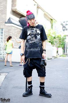 Masaya, 21 year old beautician | 29 August 2013 | #Fashion #Harajuku (原宿) #Shibuya (渋谷) #Tokyo (東京) #Japan (日本)