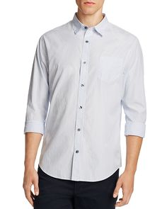 225.00$  Watch now - http://virpy.justgood.pw/vig/item.php?t=xrtuty53518 - Vince Distressed Stripe Slim Fit Button-Down Shirt