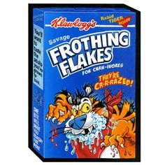 Frothing Flakes: Topps Wacky Packages Wall from WALLS 360. http://www.walls360.com/wackypackages Graphics