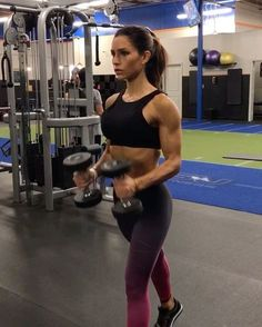 """1,691 Likes, 20 Comments - Alexia Clark (@alexia_clark) on Instagram: """"Push n Pull Upper body workout 1. 12 reps each 2. 15 reps 3. 12 reps each 4. 15 reps 3-5…"""""""
