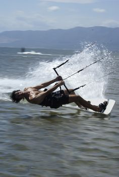 Kitesurfing freestyle