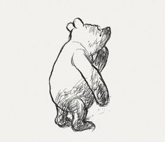 The Original Pooh | E.H. Shepherd // oh, winnie. you'll always be so much more to me than a silly ol bear.