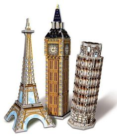 3d Jigsaw Puzzles, Big Ben, Packing, Classroom, Amazon, Toys, Baby, Blue Prints, Bag Packaging