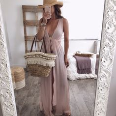 Tuscany Cut Out Cover Up | OHM BOUTIQUE