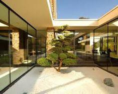 jardin interior minimalista