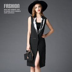 The Big European And American Women'S Spring New Sexy Back Perspective Ink Lines Spell Stripe Vest Dress 60251 Dress Of Women White Lace Casual Dress From Youyouhappy, $86.71| Dhgate.Com
