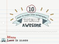 INFOGRAPHIC: 10 Ways to Make Your Infographic Totally Awesome - Cool Daily Infographics | Visual Knowledge
