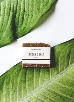 "The Greater Goods // Cedar + Salt Soap . photography by Christine Han :: <a href=""http://www.the-greater-goods.com"" rel=""nofollow"" target=""_blank"">the-greater-goods...</a>"