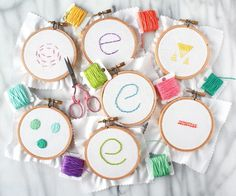 This instructable will teach you the very basics of hand embroidery. Learning to embroider is not as tough as you might think! With a bit of practice, you'll get it down in no time. Plus, embroidery is a nice relaxing thing to do after a long day if you're a lover of crafting while watching TV or listening to podcasts - most of my nights are spent embroidering! :DIn this instructable, I'll cover running stitch, back stitch, split stitch, satin stitch, stem stitch, french knots and...